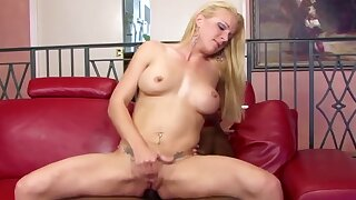 Sexy and horny MILFs taking big black dicks in their assholes and getting fucked