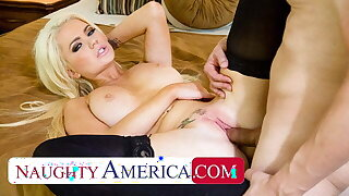 Naughty America - Alexis Ford is ready to fuck sugardaddy