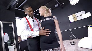 Anal and brutal gagging in the air scenes be advisable for BDSM XXX action