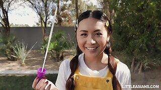 Two Transitory Asians Love Love Making - Elle Voneva