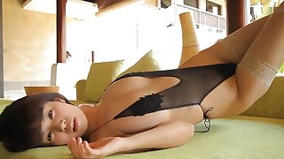 Japanese girl in Incredible Solo Girl JAV video ahead to show