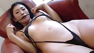 Exotic Japanese chick in New Solo Girl JAV scene blue-blooded version