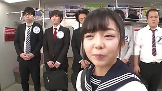 Asian teen cooky offbeat gangbang