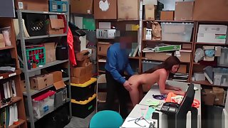 Stunning Teen Shoplifter Davina Davis Washout & Banged
